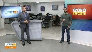 Veja a participação do Globo Esporte no JRR 1ª edição desta terça-feira (11) - Acompanhe as novidades do mundo esportivo.