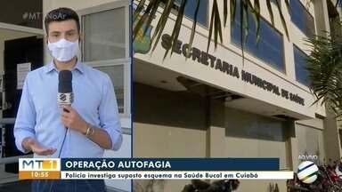 Polícia investiga suposto esquema envolvendo servidores da Coordenadoria de Saúde Bucal - Polícia investiga suposto esquema envolvendo servidores da Coordenadoria de Saúde Bucal, em Cuiabá.