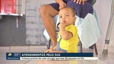 Menino de 1 ano de idade aguarda há 9 meses por uma consulta com especialista pelo SUS - Menino de 1 ano de idade aguarda há 9 meses por uma consulta com especialista pelo SUS.