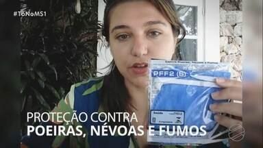 Doutoranda em saúde explica maneira correta de usar a máscara N95 - MS1 Campo Grande