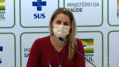 Ministério da Saúde suspende aplicação da vacina Astrazeneca em grávidas - Decisão acontece após morte de gestante de 35 anos. Grávidas e puérperas com comorbidades poderão receber doses da Pfizer e Coronavac.