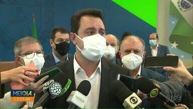 Governador não descarta novo lockdown - Ratinho Junior foi questionado sobre medidas em caso de recrudescimento da doença no Estado.