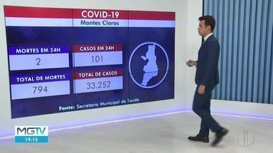 Confira as atualizações da Covid-19 em Montes Claros - Montes Claros chega a 33.252 casos e 794 mortes nesta quinta (13).