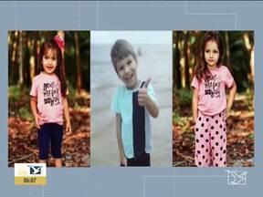 Polícia segue investigando incêndio que matou 3 crianças no MA - Segundo a polícia, fogo pode ter começado em um ventilador.