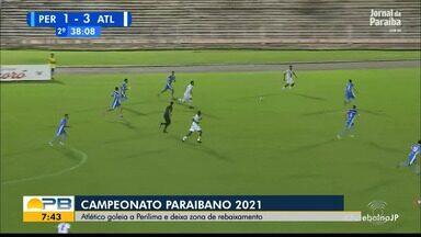 Perilima 1 x 4 Atlético-PB, pela rodada #5 do Campeonato Paraibano - Trovão Azul goleia a Águia no Amigão