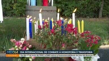 Dia Internacional de Combate à Homofobia e Transfobia é celebrado em Maringá - Ação no Parque do Ingá lembrou data.