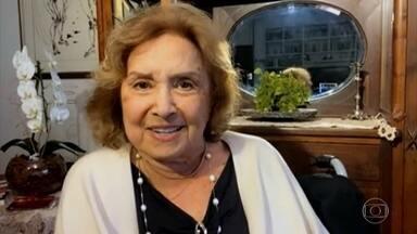 Programa de 17/05/2021 - Aos 87 anos, a atriz Eva Wilma morreu na noite de sábado, 15/4, em São Paulo. Em honra à atriz e bailarina que foi testemunha ocular de grandes momentos da dramaturgia nacional, o 'Conversa' reprisa o programa em que Eva celebrava os 70 anos da TV