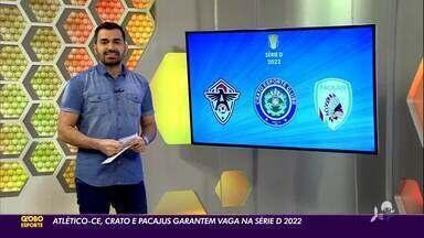 Atlético-CE, Crato e Pacajus garantem vaga na Série D do Campeonato Brasileiro - Atlético-CE, Crato e Pacajus garantem vaga na Série D do Campeonato Brasileiro
