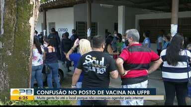 Veja como está a vacinação em João Pessoa - Município vacina pessoas que vão completar a imunização.