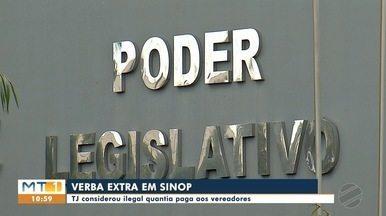 Verba de gabinete será reduzida em Sinop a partir de junho - Vereadores vão receber mil reais a menos por mês, após justiça considerar valor recebido antes ilegal
