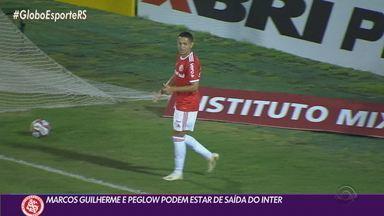 Santos encaminha contratação de Marcos Guilherme e Porto tem interesse em Peglow - Os dois devem se despedir do Inter nos próximos dias.
