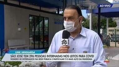 Prefeito de São José, Felício Ramuth, indica possibilidade de medidas restritivas - Cidade enfrente aumento nas internações, casos e mortes por Covid.