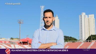 Ídolo do Vila Nova, Frontini se aposenta e vira diretor de futebol - Ídolo do Vila Nova, Frontini se aposenta e vira diretor de futebol