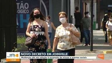 Novo decreto altera regras sanitárias em Joinville - Novo decreto altera regras sanitárias em Joinville