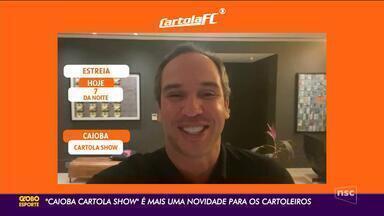 Caio Ribeiro vai ajudar os cartoleiros uma vez por semana no ge.globo - Caio Ribeiro vai ajudar os cartoleiros uma vez por semana no ge.globo