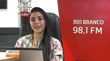 Elizânia Dinarte fala das principais notícias na CBN Rio Branco nesta terça-feira (25) - Elizânia Dinarte fala das principais notícias na CBN Rio Branco nesta terça-feira (25)