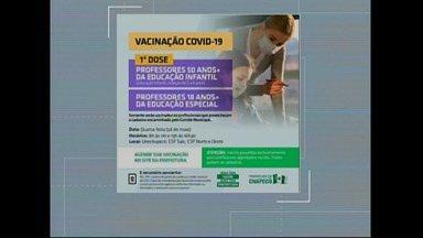 Confira o calendário da vacinação contra Covid - Jornal do Almoço atualiza como está a vacinação no oeste catarinense