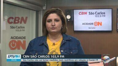 Taxa de ocupação da UTI em São Carlos está em 97% há vários dias - Veja as informações com a jornalista Marina Lacerda, da CBN.
