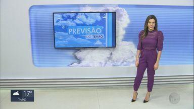 Confira a previsão do tempo para a quarta-feira (26) em São Carlos e região - Confira a previsão do tempo para a quarta-feira (26) em São Carlos e região.