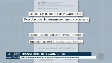 Documentos revelam esquema de corrupção envolvendo agentes públicos e empresas de transpor - Documentos revelam esquema de corrupção envolvendo agentes públicos e empresas de transporte intermunicipal.
