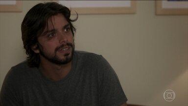 Alejandro e Gabi planejam encontrar Luna em São Paulo - Pancho informa a Dominique que Mário foi para São Paulo