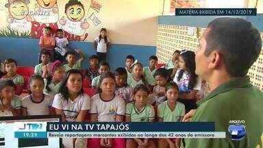 TV Tapajós 42 anos: reveja a reportagem do 'Natal Solidário no Residencial Salvação' - Pedido especial veio direto da capital paraense.