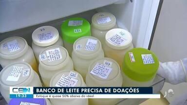 Banco de leite de Juazeiro do Norte precisa de doações - Confira mais notícias em g1.globo.com/ce