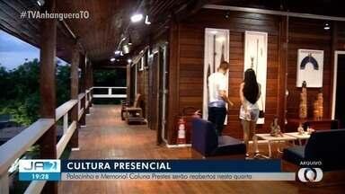 Dois museus vão reabrir em Palmas nesta quarta-feira (26) - Dois museus vão reabrir em Palmas nesta quarta-feira (26)