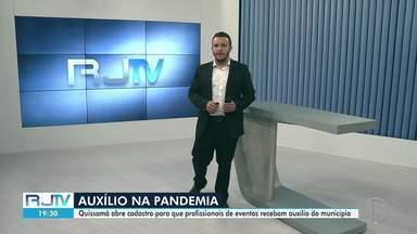 Quissamã, RJ, abre cadastro para que profissionais de eventos recebam auxílio do município - O setor foi um dos mais afetados durante a luta contra o coronavírus, que se arrasta há mais de um ano.