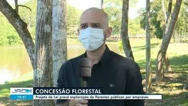 Ambientalistas criticam PL que regulariza exploração de florestas públicas - Ambientalistas criticam PL que regulariza exploração de florestas públicas