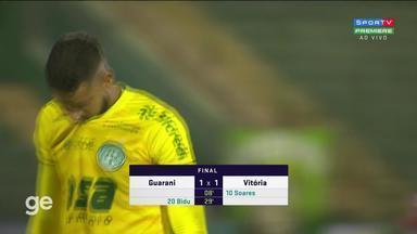 Guarani 1 X 1 Vitoria Campeonato Brasileiro Serie B Rodada 1 Tempo Real Globo Esporte