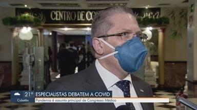 Congresso médico científico discute a pandemia na Baixada Santista nesta segunda - Congresso será realizado nesta segunda e terça-feira em Santos.