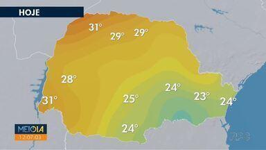 Nevoeiros são registrados em várias regiões do Paraná - Ao longo da sexta-feira (04), previsão de tempo aberto em todo estado.