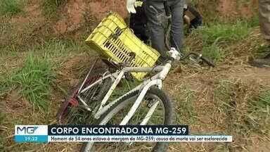 Corpo é encontrado no distrito de Pontal, em Governador Valadares - Polícia Civil investigará o caso.