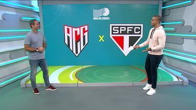 Caio Ribeiro analisa a vitória do Atlético-GO sobre o São Paulo - Caio Ribeiro analisa a vitória do Atlético-GO sobre o São Paulo