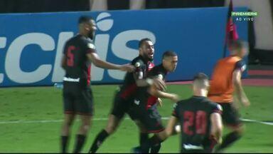 Atlético Goianiense vence o São Paulo por 2 x 0 no Antônio Accioly - Partida aconteceu no sábado (5). Dragão é o terceiro colocado na Série A do Brasileirão.