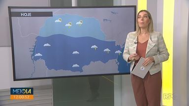 Tempo muda e a semana começa com chuva em várias regiões do estado - Em Curitiba a previsão é de que chova cerca de 36mm