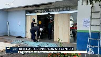 Delegacia é alvo de ataques em Manaus - Delegacia é alvo de ataques em Manaus.