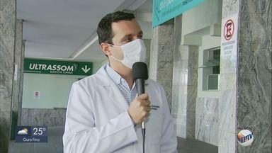 Oito novos leitos são instalados para aliviar sistema de saúde em Alfenas - Oito novos leitos são instalados para aliviar sistema de saúde em Alfenas
