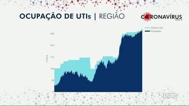 Região de Maringá bate recorde de internações por Covid em UTIs - Dados são da Macro Noroeste.