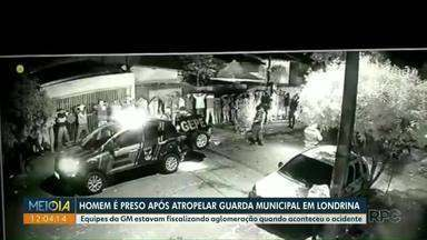 Guarda municipal é atropelado durante fiscalização de aglomeração - Vizinhos denunciaram a aglomeração, que foi encerrada pelos agentes.