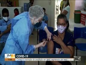 Covid-19: Imperatriz vacina pessoas sem comorbidades a partir dos 59 anos - Começa a vacinação da população em geral, segmentada por sexo.