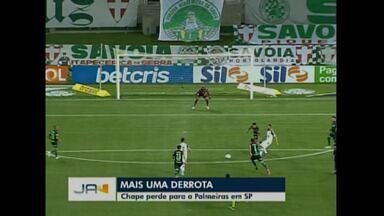 Mais uma derrota - Chape perde para o Palmeiras em SP