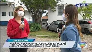 Vigilância Sanitária fez operações em Taubaté - Confira a reportagem exibida pelo Link Vanguarda.