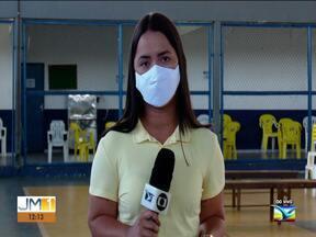 Covid-19: Caxias segue com a campanha de imunização - Imunização contra Covid-19 em Caxias.