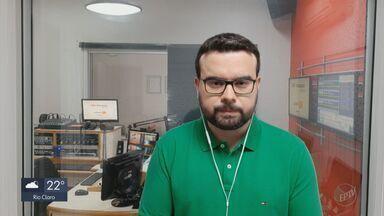 Araraquara aplica 64 multas por descumprimento das medidas sanitárias contra a Covid - Confira os detalhes com o repórter Rafael de Paula, da CBN.