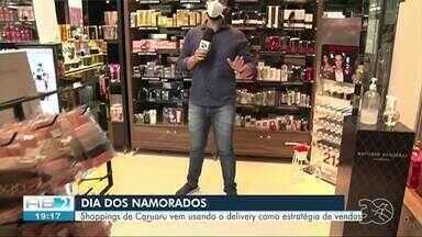 Shoppings de Caruaru criam estratégias para manter vendas em alta durante quarentena - Dia dos Namorados é uma das principais datas para vendas nos centro de compras.