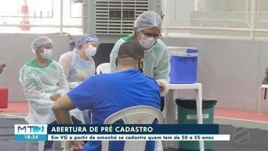 Várzea Grande abre cadastro nesta terça para vacinar pessoas de 50 a 55 anos - Várzea Grande abre cadastro nesta terça para vacinar pessoas de 50 a 55 anos.