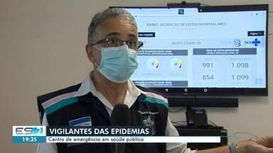 Conheça o trabalho do CIEVS, que atua em epidemias no ES - Assista.