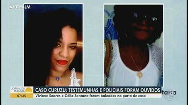Testemunhas são ouvidas sobre morte de mulheres no bairro do Curuzu, em Salvador - Viviane e Maria Célia foram baleadas na noite de sexta-feira (4), na porta de casa, durante ação policial.